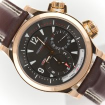 Jaeger-LeCoultre Rose gold Automatic 42mm pre-owned Master Geographic