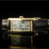 Cartier Tank Américaine Yellow gold 35mm White Roman numerals
