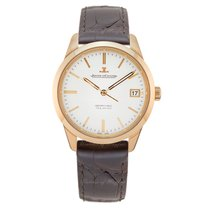 Jaeger-LeCoultre Geophysic True Second Oro rosa 39.6mm Plata