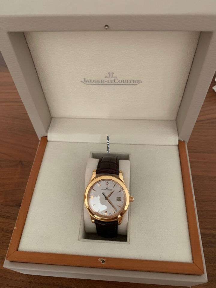 Jaeger-LeCoultre Master Control Date Q1392420 2012 pre-owned
