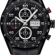 TAG Heuer Carrera Calibre 16 Titanium 43mm Black