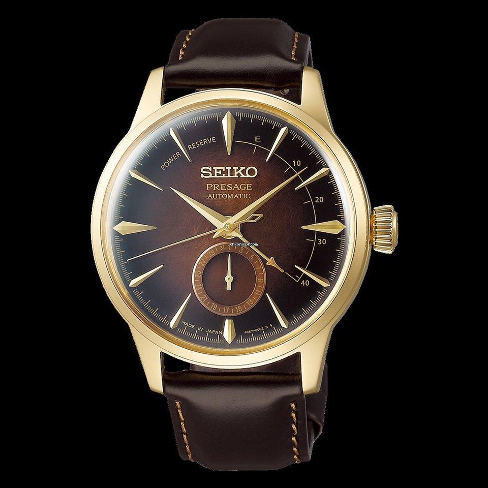 fcb17c82827e39 Ceny zegarka Seiko Presage | Cena zegarka Presage na Chrono24