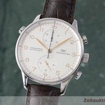 IWC Portuguese Chronograph Stål 41mm Sølv
