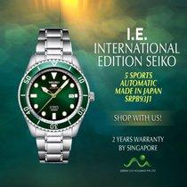 Seiko 5 Sports Steel 42mm Green No numerals Singapore, Singapore