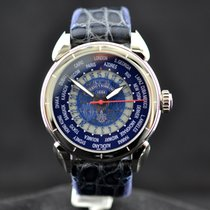 Cuervo y Sobrinos Steel 44mm Automatic 3202.1BHDM pre-owned