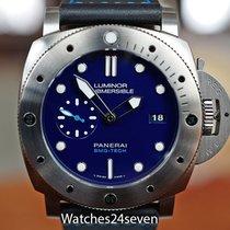 Panerai Luminor Submersible 1950 3 Days Automatic 47mm Blauw