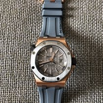 Audemars Piguet Rose gold Automatic Grey 42mm new Royal Oak Offshore Diver