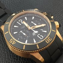 Jaeger-LeCoultre Master Compressor Diving Chronograph GMT Navy SEALs Oro rosado 46.3mm Negro