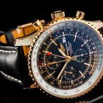 브라이틀링 내비타이머 월드 R2432212/B852 2008 중고시계