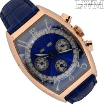 Franck Muller pre-owned Automatic 40mm Blue Sapphire crystal 3 ATM