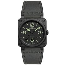 Bell & Ross BR 03-92 Ceramic BR0392-BL3-CE/SCA 2020 new
