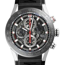 TAG Heuer Carrera Calibre HEUER 01 new Automatic Watch with original box and original papers 01 CAR201V.FT6046