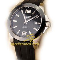 Longines Conquest L3.657.4.56.2 - Stainless Steel, Black Dial new