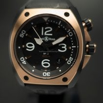 Bell & Ross BR 02 BR02-PINKGOLD-CA Unworn Gold/Steel 44mm Automatic