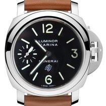 Panerai Luminor Marina Logo Acciaio Stainless Steel Men's Watch