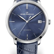 Girard Perregaux 1966 White gold 41mm Blue No numerals
