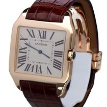 Cartier Santos Dumont Rose Gold Ultra Thin 45 x 35 mm (Full Set)