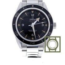 Omega Seamaster 300 automatic black dial steel