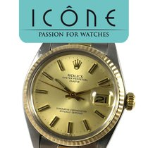 Rolex Oyster Perpetual Date - Yellow Gold & Steel