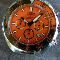 Doxa Çelik 48mm Otomatik Sub Diver Chrono yeni