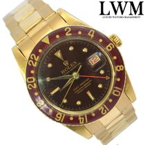 Rolex GMT Master 6542 Lacquered Stella dial gold 18KT Full Set