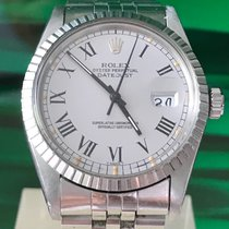 Rolex Datejust Ref. 16030 Grey Buckley/box&papers/new service