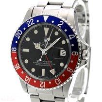 Rolex Vintage GMT Master Ref-1675 Stainless Steel Bj-1966