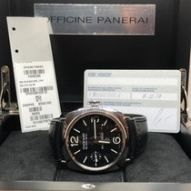 Panerai 45mm Manual winding 2017 pre-owned Radiomir Black Seal Black