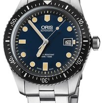 Oris Divers Sixty Five new Automatic Watch with original box 01 733 7720 4055-07 8 21 18
