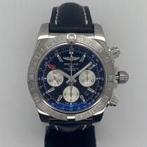 Breitling Chronomat 44 GMT Stahl 44mm Schwarz Keine Ziffern Deutschland, Düsseldorf