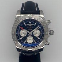 Breitling Chronomat 44 GMT neu Automatik Chronograph Uhr mit Original-Box und Original-Papieren AB042011/BB56