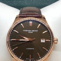 Frederique Constant Classics Index Steel 40mm Brown