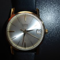 Roamer Yellow gold Automatic Champagne No numerals 34mm pre-owned