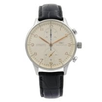 IWC Portuguese Chronograph Steel 41mm Silver United States of America, New York, New York