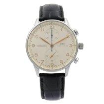 IWC Portuguese Chronograph Aço 41mm Prata