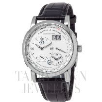A. Lange & Söhne Lange 1 White gold 42mm Silver United States of America, New York, Hartsdale