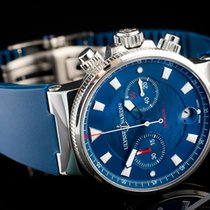 Ulysse Nardin Blue Seal Steel 41mm Blue