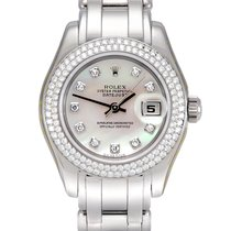 Rolex Pearlmaster White gold 29mm Mother of pearl No numerals United Kingdom, Manchester