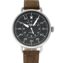 Bell & Ross Vintage Steel 45mm Black United States of America, Maryland, Baltimore, MD