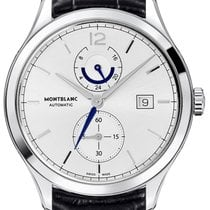 Montblanc Heritage Chronométrie Steel 41mm Silver United States of America, Iowa, Des Moines