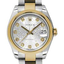 Rolex Datejust, Ref. 178243 - silber Jubi Diamant ZB/Oysterband