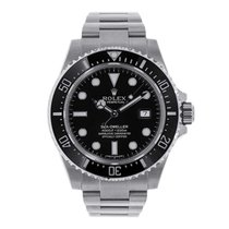 Rolex Sea-Dweller 4000 Steel 40mm Black No numerals United States of America, New York, New York