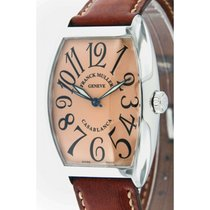 Franck Muller 34mm Automatic 2008 pre-owned Casablanca Champagne