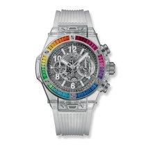 Hublot Big Bang Unico Sapphire Rainbow 45mm Ref 411.JX.4803.RT...