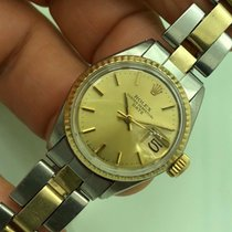 Rolex Oyster Perpetual Lady Date Automatic Ref. 6517 Gold & Steel