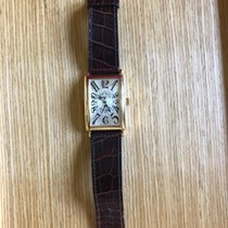 Franck Muller Long Island pre-owned 32mm Yellow gold
