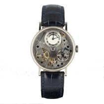 Breguet Or blanc Remontage manuel 38mm 2012 Tradition