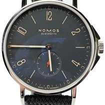 NOMOS Ahoi Atlantik Steel 40mm Black Arabic numerals United States of America, Florida