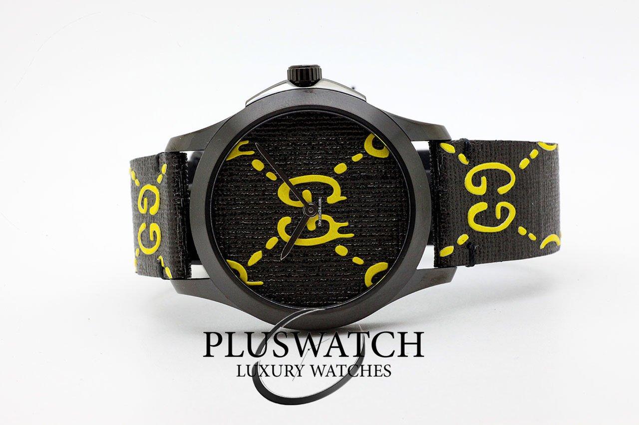 5b1eff4f27e Gucci Men s G-Timeless Quartz Watch YA1264019