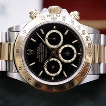 Rolex Daytona mk1 floating black dial 200 kmh bezel R box papers